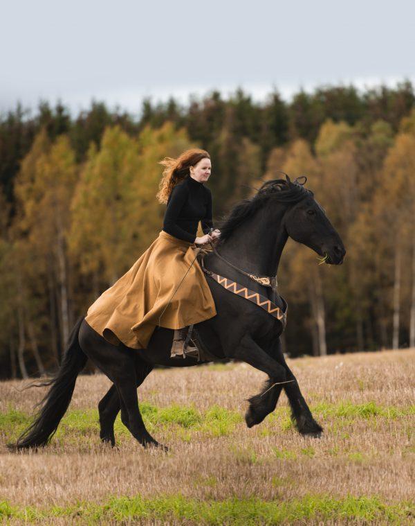 Rideklær for hesteridning